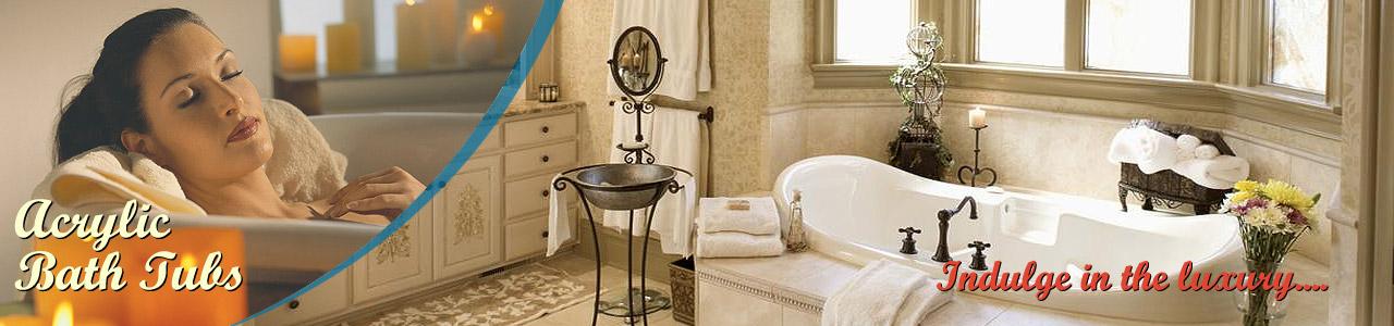 Acrylic Bath Tubs | Pearl Bath Tubs